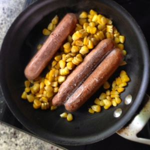 Corn & Sausages