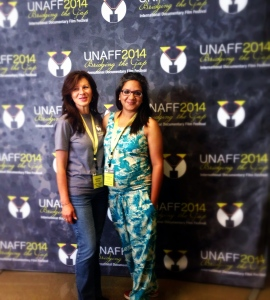 At the UNAFF Ceremony